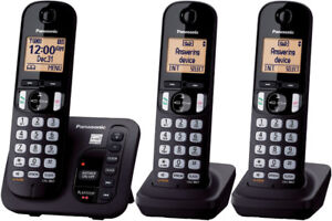 Panasonic KX-TGD220C Cordless Phone with answering System + 3 HS