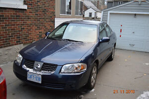 2005 Nissan Sentra Sedan Kitchener / Waterloo Kitchener Area image 4