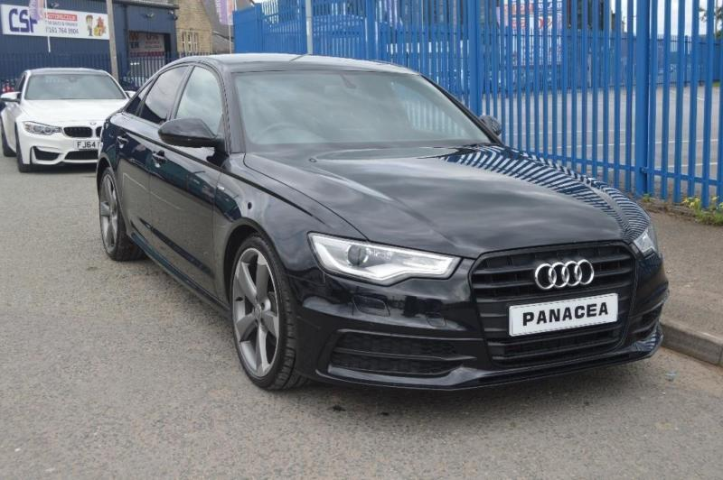 2013 63 AUDI A6 SALOON 2.0 TDI BLACK EDITION MULTITRONIC 4DR DIESEL