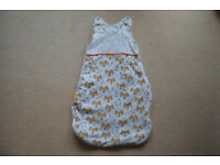 🦊 All season baby sleeping bag (0-6 months, 2.5 tog) 🦊
