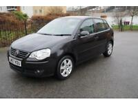 Volkswagen Polo 1.4 ( 80PS ) auto 2008MY Match Full Auto Black