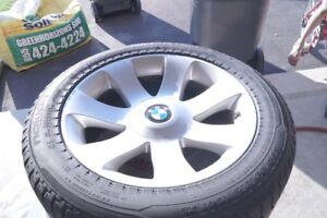 """18"""" BMW Rims fitted with Winter Tire available for Sale"""