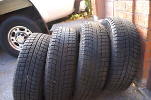 Winter Tires with rims, Michelin X-Ice 185/65R15 - 4 bolt