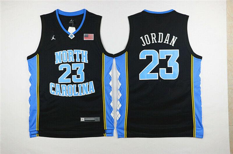 Michael Jordan #23 The University of North Carolina System Basketball Trikot C