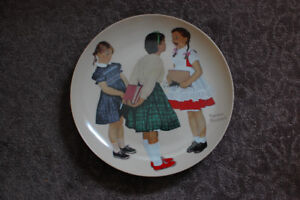"""Norman Rockwell Collector Plate, """"Check Up"""""""