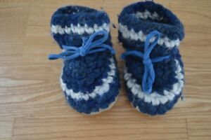 Padraig Slippers - Size 3/4 - 2 Pairs