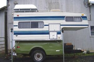 I want a small slide in truck camper