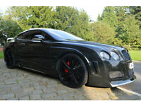 Bentley Continental 6.0 GT*CUSTOM NOT REPLICA*PX GTC*SWAP FERRARI GTR OR QUATTRO