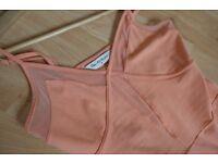 Peach miss selfridge summer dress