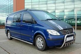 Mercedes-Benz Vito (Excel) Auto, 2 Berth,4 Sbelt, rear view camera,