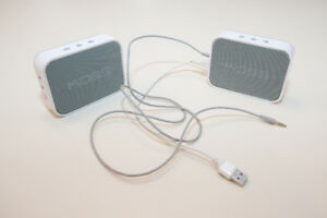 Two Koss Bluetooth Speakers
