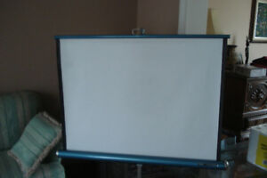 Projection Screen for Slide projector