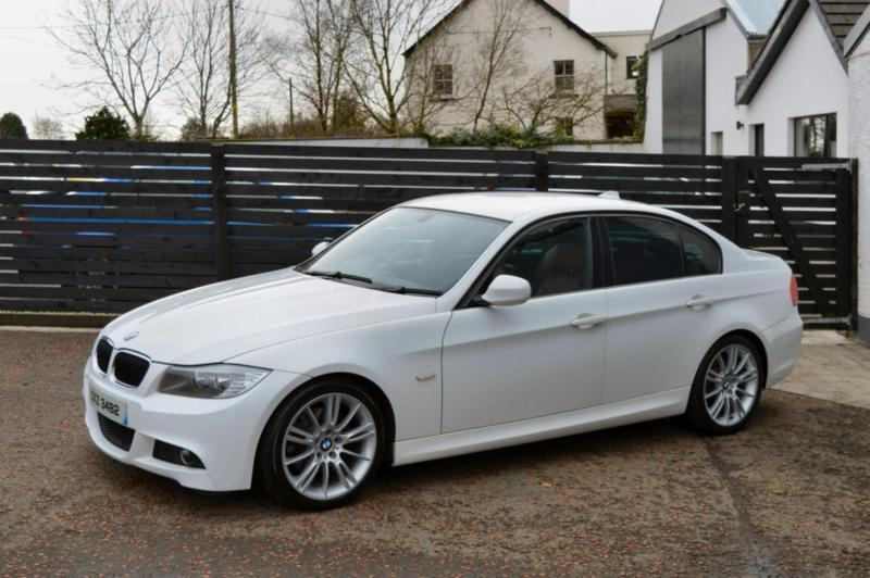 2009 bmw e90 lci 320d m sport white red leather fsh 2 keys. Black Bedroom Furniture Sets. Home Design Ideas