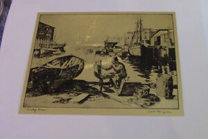 The Best of Lionel Barrymore, 4 Gold-Etch Prints Kitchener / Waterloo Kitchener Area image 4