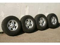 2001 Land Rover Defender Set of 4 Boost Alloy Wheels NA Diesel Manual