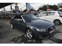 Audi A5 2.0TFSI ( 211ps ) 2010MY S Line CONVERTABLE SAT NAV LEATHER INT