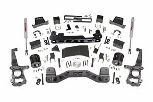 6IN FORD SUSPENSION LIFT KIT (15-17 F-150 4WD) Rough Country NEW