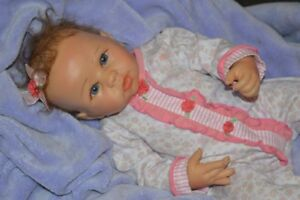 reborn baby doll~ with silicone head, legs, Arms and belly.