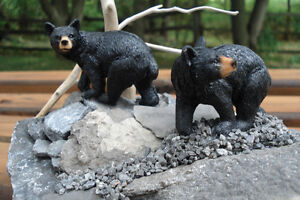 Hand Crafted Bears 3-D Table Sculpture