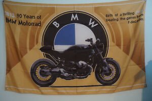 BMW Bike 2013 Flag Banner Garage Man Cave 5x3 Feet