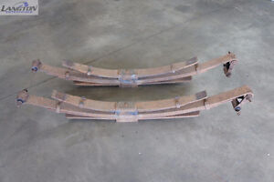 Leaf Spring Set w/ Overloads 1998 Dodge Ram 1 Ton Cummins Diesel