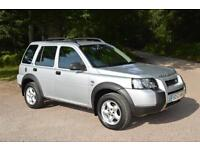2003 LAND ROVER FREELANDER 2.0 Td4 SE Station Wagon 5dr Auto