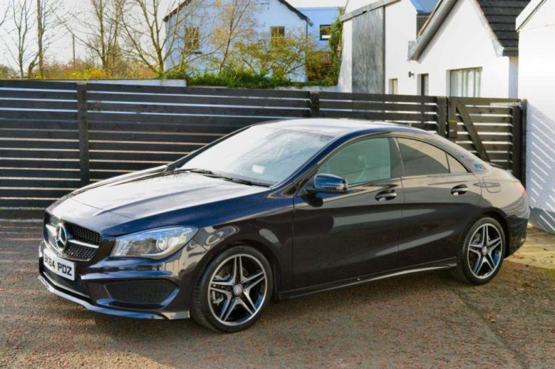 2014 mercedes cla class amg sport cla 220 cdi dct northern lights violet in ballymoney county. Black Bedroom Furniture Sets. Home Design Ideas