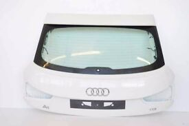 AUDI A1 BOOTLID TAILGATE WHITE MINT condion