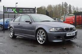 2002 52 BMW M3 3.2 M3 2D 338 BHP