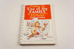 """""""Cooking for One of the Family""""  Canine Cuisine pb Dog cookbook"""