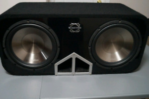 CLARION WG3020 12 inch sub's