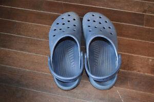Navy Crocs Size Small