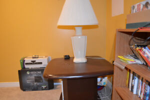 Moving Sale! Pair of Oak End Tables