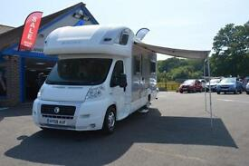 2008 SWIFT VOYAGER 685 FB 40 MULTIJET 2.3 DIESEL 4 BERTH 6 SEATS WITH ADDITIONAL