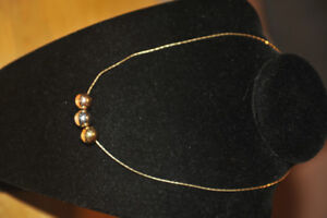 3 Gold necklace