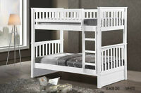 Hardwood Bunk Bed Twin/Twin- Duncan -by Bunk Beds Canada