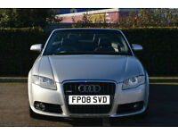 Audi A4 Cabriolet 2.0TD ( 138bhp ) Multitronic 2008MY S Line