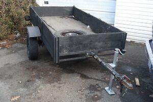 old trailer remorque 4'x8'