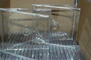 50 All Clear Standard plastic CD / DVD / CD ROM Jewel Cases Gatineau Ottawa / Gatineau Area image 1