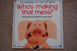 Who's making that mess? Usborne Lift-the-Flap Book