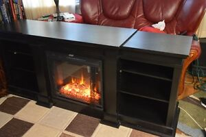 NEW Realflame Fresno Fireplace TV Cabinet 72 in