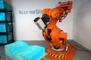 Robotic CNC milling setup - 6 Axis CNC machine