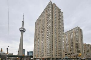 Furnished two bedroom condo on Queens Quay for rent