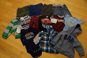 Lot of 6-12 Month Size Baby Clothes