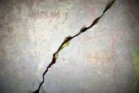 Calgary's basement crack repair experts