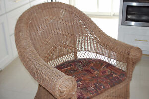 strong wicker chair Cambridge Kitchener Area image 2