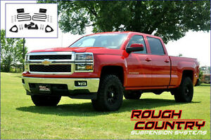Ens. de suspension 2.5'' Rough Country Silverado 1500 2014-16