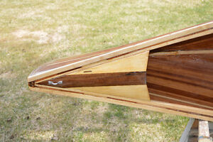 New Chestnut Prospector Cedar Strip Canoe