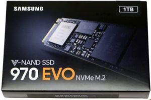 SSD 1-TB Samsung 970 EVO NVMe M.2 - Brand New & Sealed