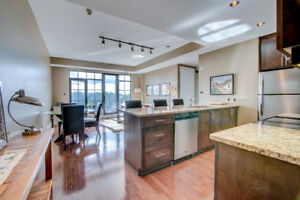 Gorgeous condo in Little Italy with Views of Dows Lake